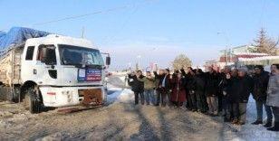 Edremit Belediyesinin ikinci yardım tırı yola çıktı