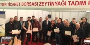 Zeytinyağı kalite yarışması kazananları madalyalarını aldı