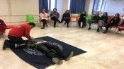 Pamukkale Üniversitesi personeline ilk yardım eğitimi