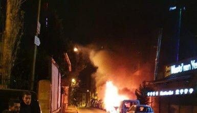 Şişli'de bir haftada 18 aracın lastiği kesildi, 2 araç da kundaklandı