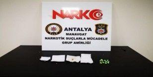 Narkotim ekiplerinin şüphesi uyuşturucu tacirini yakalattı