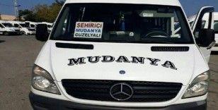 Mudanya minibüslerinin güzergahı değişti