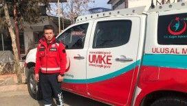 10 günlük bebeğini bırakıp deprem bölgesine yardıma koştu