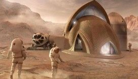 NASA Mars ve Ay'da mantardan evlerle koloni kurmaya hazırlanıyor