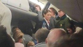 Belarus'ta şeker fabrikalarına yapılan operasyonda yolcu uçağı geri çağrıldı