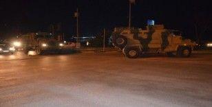 Reyhanlı sınırına komanda ve askeri araç takviyesi