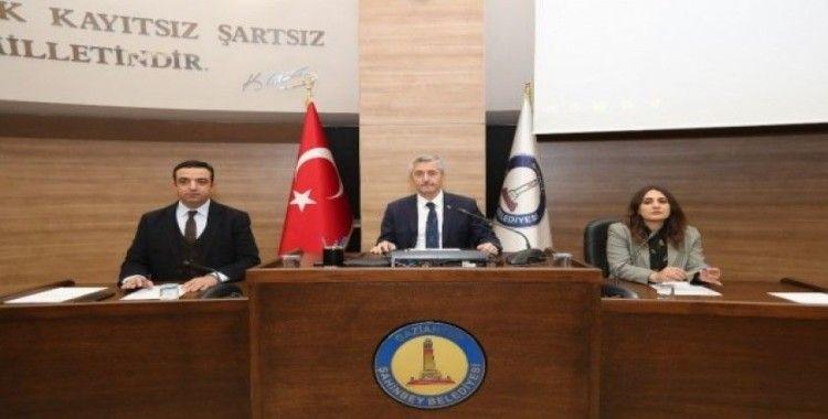 Şahinbey'de Şubat ayı meclis toplantısı yapıldı