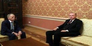 Cumhurbaşkanı Erdoğan, Kırım Tatarlarının lideri Kırımoğlu'nu kabul etti