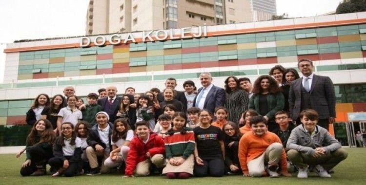 İTÜ Rektörü Prof. Dr. Karaca, Doğa Koleji öğrencileri ile buluştu