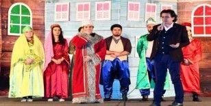 Yarıyıl tatilinin son gününde çocuklar için moral tiyatrosu