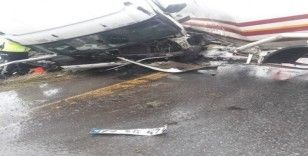 LPG tankeri direğe çarptı, facianın eşiğinden dönüldü