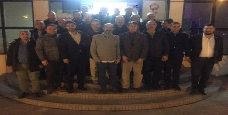 TSYD Bursa Şubesi İl Tertip Komitesi'ni ağırladı