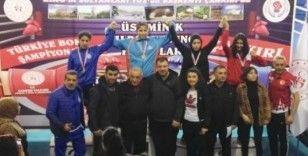 Kocasinan'ın boks sporcusu Hikmet Gül Türkmen, Türkiye Şampiyonu Oldu