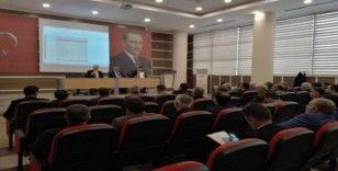 Van'da 'Eğitim Öğretim 1. Dönem Değerlendirme Toplantısı' yapıldı