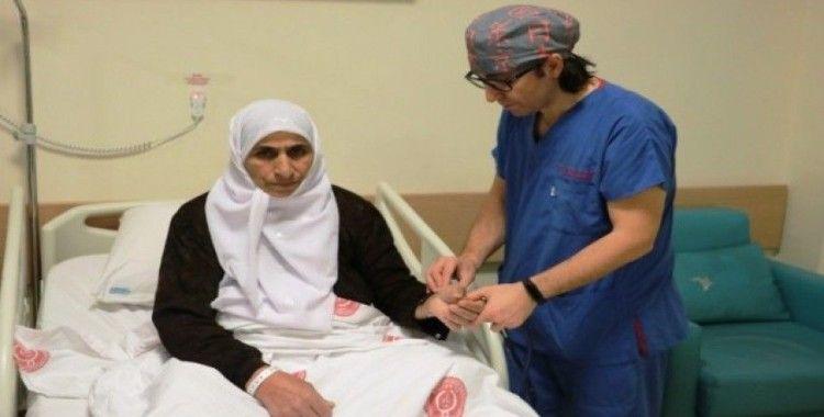 Şanlıurfa'da ilk kez yapılan iki farklı tedaviyle iki hasta sağlığına kavuştu