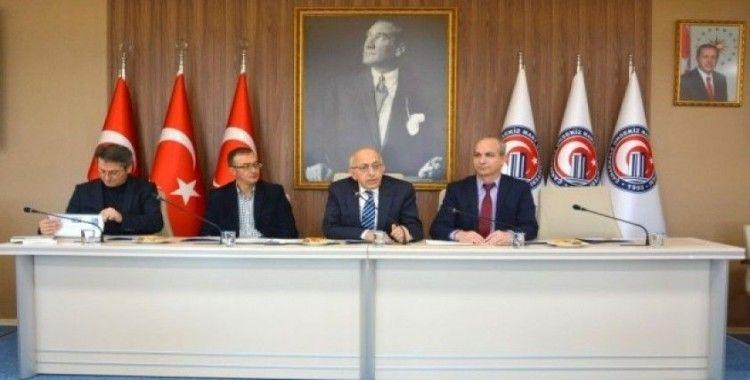 Rektör Prof. Dr. Sedat Murat dergi editörleriyle bir araya geldi