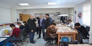 KOSGEB Müdürü Fidan'dan Kaymakam Özadalı'ya ziyaret