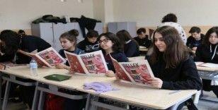 GKV Cemil Alevli Koleji'nden yayın atağı