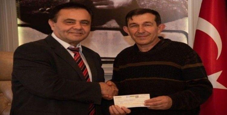 Küplüspor'dan Başkan Şahin'e ziyaret