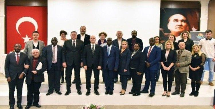 Antalya OSB'de Uganda ülke tanıtım günü