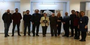 Maltepe'de 'Geçmişten Günümüze' nakış sergisi açıldı