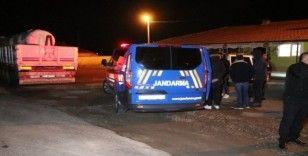 Aksaray'da kamyon yayaya çarptı: 1 yaralı