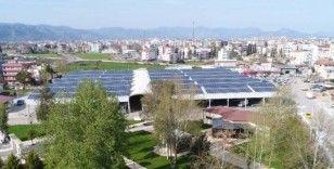 Döşemealtı Belediyesi, ürettikleri enerjiden 1 milyon 179 bin lira gelir elde etti