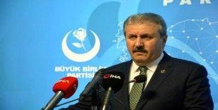 BBP Genel Başkanı Destici: 'Emperyalist güçler Türkiye'yi bölgede istemiyor'