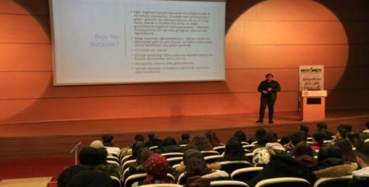 NEVÜ öğrencilerine 'Avrupa Gönüllü Hizmeti'