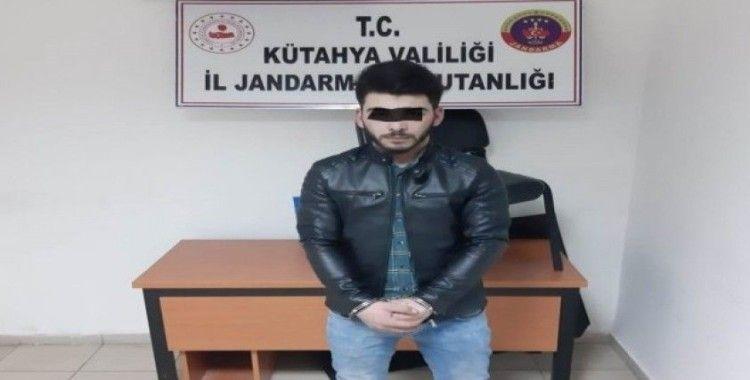 Kütahya'da 12 ayrı suçtan aranan şahıs yakalandı