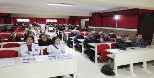 Burhaniye'de kursiyerlere kanserde erken teşhisin önemi anlatıldı