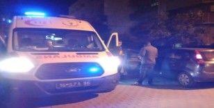 Sarhoş sürücü polis ve sağlık ekiplerine zor anlar yaşattı