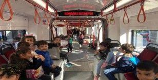 SAMULAŞ'tan 600 öğrenciye toplu taşıma eğitimi