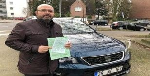 Türkiye plakalı araca Hamburg'da vergi cezası kesildi