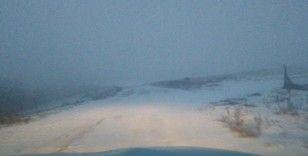 Malkara'da kar yağışı