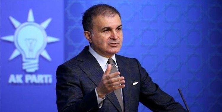 AK Parti Sözcüsü Çelik: 'İyi araştırılmadan suçlayıcı ifadelerin kullanılması doğru değil'