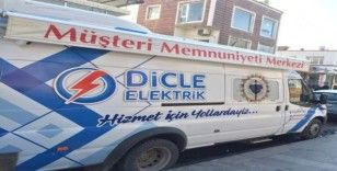 DEDAŞ'tan Silvan'da mobil memnuniyet hizmeti