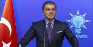 AK Parti Sözcüsü Çelik: 'Arkadaşlarımız gereken suç duyurularını yapacaklar'