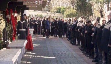 Cumhurbaşkanı Erdoğan şehit için düzenlenen törene katıldı