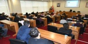 """Belediye personeline """"Kamuda Etik İlkeler"""" semineri verildi"""