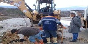 Safranbolu'da ekipler çalışıyor