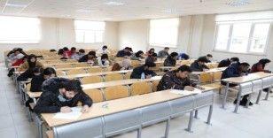 SADEM'DE yabancı öğrenciler kur sınavlarını tamamladı