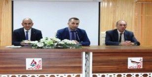 Bulanık Milli Eğitim Müdürü Tunçel, okul müdürleriyle bir araya geldi