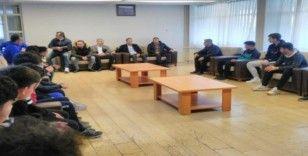Başkan Adil Gevrek'ten altyapı tesislerine ziyaret