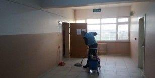 Okulların temizlik ve bakımı, denetimli erbestlikten