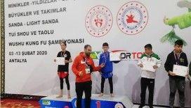 Wushu Türkiye Şampiyonasından 11 madalya ile döndüler