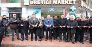 Organik tüketimi yaygınlaştırmak için 'Üretici Market' açıldı