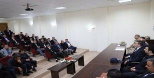 Musabeyli'de muhtarlar toplantısı