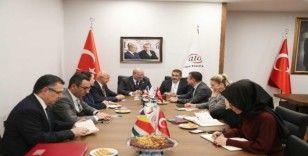 """ATO Başkanı Baran: """"İçinde ticaretin olduğu her alanda varız"""""""