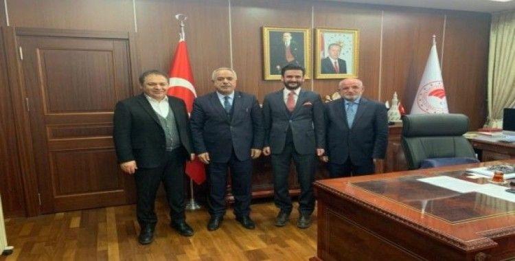 Türkiye Arı Ürünleri Paketleyiciler Derneği'nden, Bakan Yardımcısı Tunç'a ziyaret